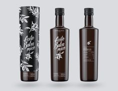 Concept for a Olive Oil and Balsamico Oil