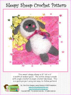 Amigurumi Sleeping Sheep : 1000+ images about Doll & Toy Crochet Patterns on ...