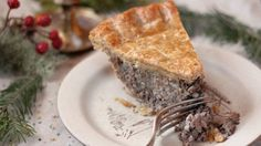 Classic French Canadian Tourtière | Kitchen Vignettes | PBS Food ---------------------------------------------------  I didn't add all the spices (nutmeg, cinnamon, etc...)  My youngest LOVED it.