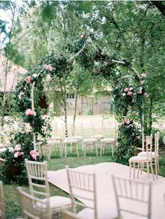 #GardenWedding | #AislePerfect English country garden wedding