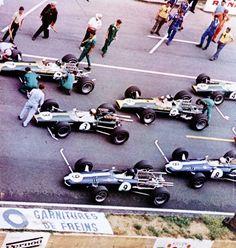 1967, Le Mans Bugatti, French GP.