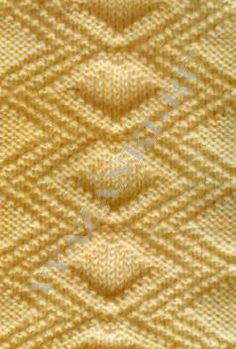 Knitting Purl Stitch Diagram : Knitting - stitch library on Pinterest Knitting Stitches, Knit Stitches and...