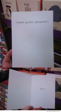 """This is the perfect card for someone I unfortunately know...but then again the so called """"father"""" is a whore too ;)"""