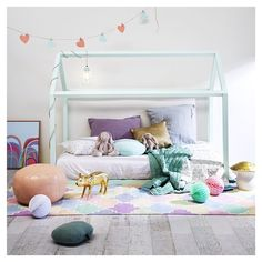 This Little Love, thislittlelove.com.au Children's Decor & Design - This Little House Bed Frame.