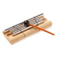 Buy a chime that will bring people back to their seats with just a gentle tap of the mallet. Great for office meetings and classrooms.