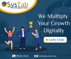 As the competition grows, you need a partner who can help to grow your business digitally. #digitalmarketing is the most effective tool that will help to reach and connect with your consumer. Services We Offer: ✅ SEO (Search Engine Optimization) ✅ Social Media Marketing ✅ Lead Generation ✅ Content Marketing ✅ PPC Campaign / Google Ads ✅ Website Development ✅ Mobile App Promotion #LetsTalk, a quick conversation can help to find the right business opportunity for you. 📞 +91-99038-70143 Content Marketing, Social Media Marketing, App Promotion, Google Ads, Digital Marketing Services, Lead Generation, Search Engine Optimization, Growing Your Business, Business Opportunities