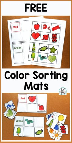 Crayon Colors Printable Book with 6 pages {free