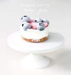 Lemon Berry Pie - refreshing dessert recipe