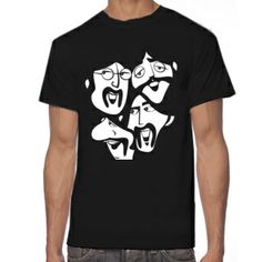 The FAB FOUR 101 - Cool t-shirt comic #Beatles.