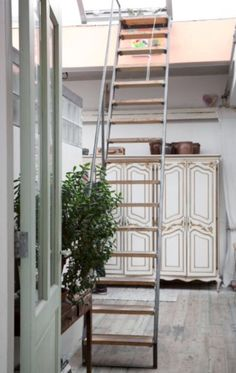 """This stairway to heaven is from our feature """"Loft of her Life"""""""