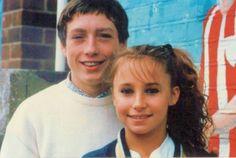Grange Hill  Zammo and Jackie.