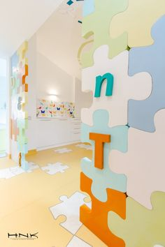 Dental Clinic for Children with a Gorgeous Design: Dent Estet 4 Kids / Dental clinic for children with a gorgeous design Dent Estet 4 Kids - Hamid Nicola Katrib - www.