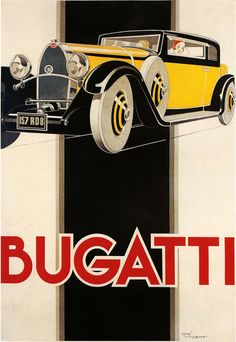 Louwman Museum - Bugatti Poster