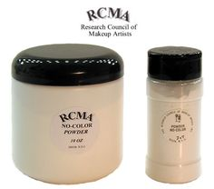 RCMA No-Color Loose Powder is an industry staple in just about every pro makeup artist's kit, because it delivers excellent matte coverage and keeps oily skin under control.� It's�is the perfect all-purpose setting powder for both beauty makeup and special makeup effects.��RCMA Powder can be applied to any shade of foundation, from the lightest to the darkest shade, with no color change or caking.� It blends�with all skin tones for a natural looking finish, and retains the intensity of even…