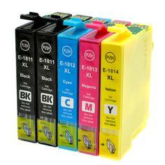 $9.50 (Buy here: https://alitems.com/g/1e8d114494ebda23ff8b16525dc3e8/?i=5&ulp=https%3A%2F%2Fwww.aliexpress.com%2Fitem%2F5Pcs-T1811-T1814-Ink-Cartridge-For-EPSON-XP212-XP215-XP312-XP315-XP412-XP415-XP102-XP202-XP205%2F32695636177.html ) 5Pcs T1811 - T1814 Ink Cartridge For EPSON XP212 XP215 XP225 XP312 XP315 XP412 XP415 XP202 XP205 XP302 XP305 XP402 XP405 Printer for just $9.50