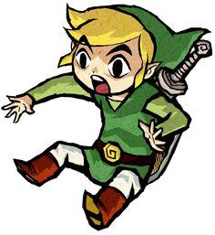 Link Surprised - Characters & Art - The Legend of Zelda: The Wind Waker HD