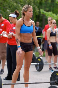 Strong and Beautiful. A photo I came across - She looks like she could kick some a** and look good doing it.