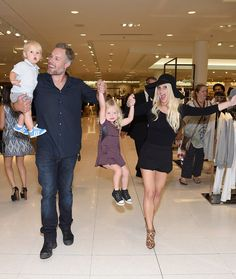 Pin for Later: Jessica Simpson and Her Kids Get Ridiculously Adorable at Her Fashion Show