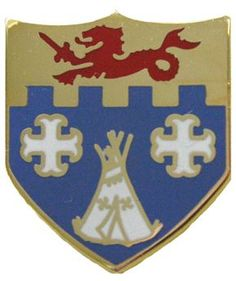 12th Infantry Unit Crest (No Motto)
