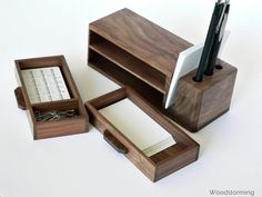 https://www.etsy.com/listing/178355471/wooden-desk-organizer-with-2-drawers