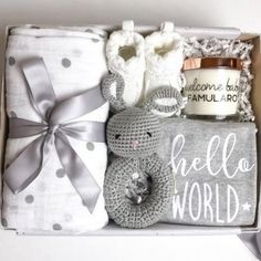 Baby Gift Hampers, Baby Gift Box, Cute Baby Gifts, Gift For Baby Girl, Baby Boy, New Mom Gift Basket, Cute Baby Shower Gifts, Baby Hamper, New Baby Gifts