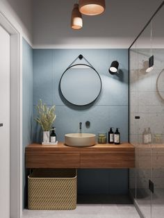 Beautiful bathroom ideas that are decor. Modern Farmhouse, Rustic Modern, Classic, light and bathroom that is airy ideas. Bathroom makeover ideas and bathroom ideas that are remodel. Mid Century Modern Bathroom, Modern Bathroom Design, Bathroom Interior Design, Bathroom Designs, Minimal Bathroom, Modern Bathrooms, Modern Interior, Simple Bathroom, Interior Architecture