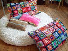crochet na decoração de Paris  (Foto: Divulgação)