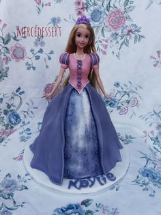 Gâteau princesse Raiponce
