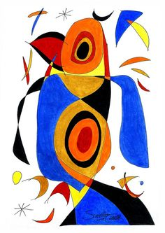 Abstract Bird - Painting by Sudhir Chalke in Paintings(Abstract) at touchtalent 76851