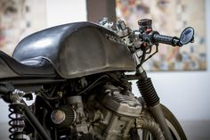 Plastic fantastic - Guilhem's Honda CX500 ~ Return of the Cafe Racers