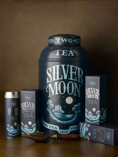 Silver Moon Tea from TWG Tea - green tea blend with subtle hints of vanilla and fruit