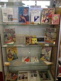 Vintage Craft Journal and resources display  #Rochester #2012