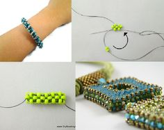 Best Seed Bead Jewelry 2017 Cubic Right Angle Weave Seed Bead Tutorials Bead Jewellery, Seed Bead Jewelry, Beading Projects, Beading Tutorials, Beaded Jewelry Patterns, Beading Patterns, Right Angle Weave, Bead Art, Bead Weaving