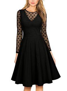 MissMay Women's Vintage Elegant Long Sleeve Polka Dot Swi... https://www.amazon.com/dp/B072L844CZ/ref=cm_sw_r_pi_dp_x_4Y8Azb77W6TZ4