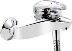 wall mounted bath shower mixer faucet with shower kit (chrome). - kbbusa.com