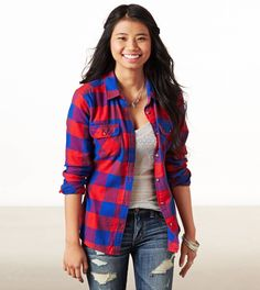 AE Boyfriend Button Down Shirt I have this shirt :)