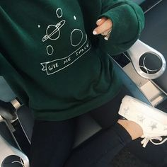 34 Super ideas for hair black grunge outfit Grunge Outfits, Mode Outfits, Grunge Shoes, Slytherin, Pastel Jeans, Pastel Shoes, Look Fashion, Womens Fashion, Green Fashion