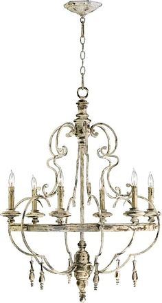 Davinci 6-Light Candle-Style Chandelier