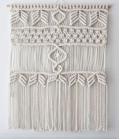 Custom Macrame Wall Hanging