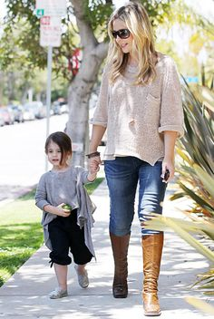 Sarah Michelle Gellar - that little girl has no idea how awesome her mommy is