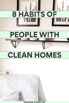 If you need some good cleaning hacks, then definitely read this post that'll help you with your cleaning schedule. These tips really are good, general cleaning tips for your home.
