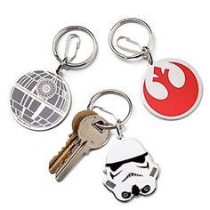 Star Wars Enamel Keychains - six different ones to check out!   #starwars #StarWars #sw7x7