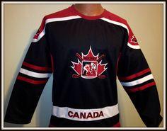 CANADA ATHLETCIS EMBROIDERED CANADA HOCKEY JERSEY YOUTH SMALL 8  #CANADAATHLETICS #ChicagoBlackhawks