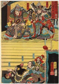 国芳水浒/三国浮世绘鉴赏|绘本/漫画|绘画艺术 - 设计佳作欣赏 - 站酷 (ZCOOL)