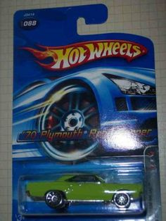 Motown Metal Series #3 1970 Plymouth Road Runner 10-Spoke Wheels #2006-88 Collectible Collector Car Mattel Hot Wheels by Hot Wheels. $3.99. Fun For All Ages! Serious Collectors And Kids Alike!. Perfect Hot Wheels Diecast for every collector!. Diecast Metal Hot Wheels Car Perfect For That Hot Wheels Collector!. A Perfect Addition To Any Hot Wheels Collection!. Great Investment For Any Hot Wheels Collector.. Motown Metal Series #3 1970 Plymouth Road Runner 10-Sp...