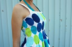 Beach towel dress- diy. Someday I will get better at sewing and I WILL make this! I <3 this woman's blog, too. Tons of other sewing projects.