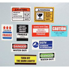 Decorative caution sticker set by UNIVERSAL CONDITION. The caution sticker is inspired by stops signs and caution tape to tell everyone to stay away, watch out and get real. Web Design, Layout Design, Logo Design, Graphic Design Posters, Graphic Design Inspiration, Diy Phone Case, Aesthetic Stickers, Grafik Design, Cute Stickers