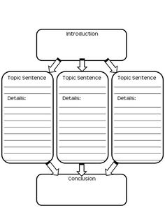 Free Graphic Organizer for writing!