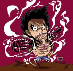 Luffy Gear 4th ✋️ !! By Migne Huynh 100 % vector #onepiece #luffy #monkeydluffy #gearfourth #gear4 #doflamingo #manga #anime #zorro #sanji #geek #geekart #art #vector #illustrator #illustration #artwork #graphic #design #otaku #draw #drawing #strong #artoftheday #chibi #fanart #blackandwhite #graphicdesigner #pen #color #colors #colorfull