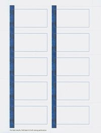 Buy Blue Line Printable Business Cards 35287 from Geographics and save. Free Templates Clip Art and Wording!